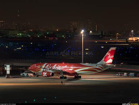 airasia haneda terminal 9m xxt airasia x airbus a330 300 at tokyo haneda intl