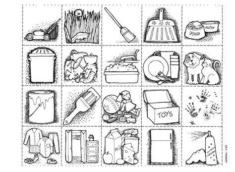 house chores coloring pages mormon share chores page
