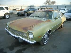 salvage ford pinto   sale bakersfieldca