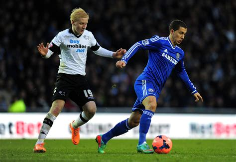 chelsea derby eden hazard photos photos derby county v chelsea fa