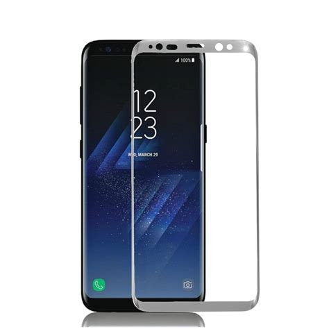 Tempered Glass 3d Samsung Galaxy S8 3d arc edge 0 26mm tempered glass silk screen screen protector for samsung galaxy s8 s8