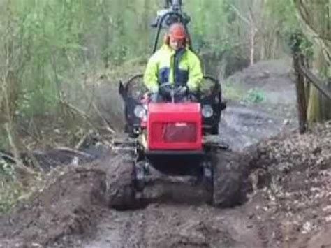Skidder Minnie extraction with alstor mini forwarder