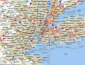 Map Connecticut New York by Ny Nj Ct Map Quotes