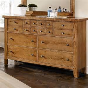 bb96 002 vaughan bassett furniture grandmas attic light oak triple dresser charlotte appliance