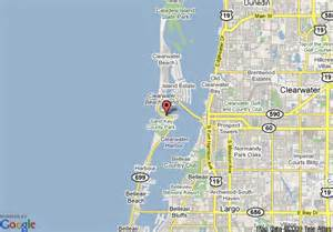 map of clearwater florida and surrounding areas map of econo lodge clearwater clearwater