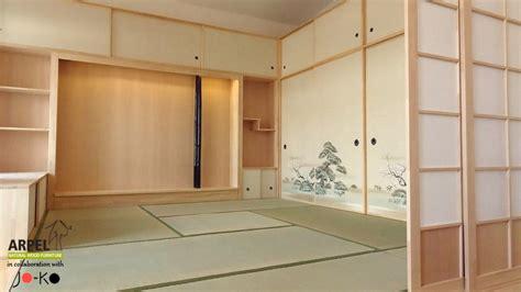 Pareti Mobili Giapponesi by Esempio Di Arredamento Su Misura Con Pareti Shoji Foto