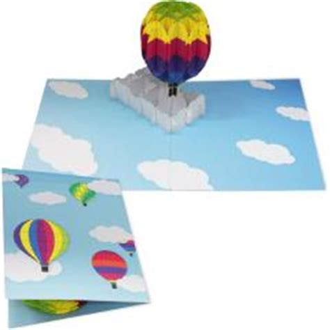 pop up card template canon pop up card air balloon others pop up cards