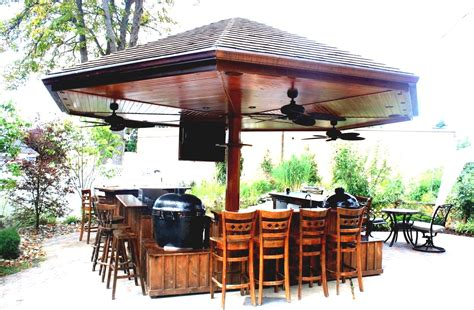 Outdoor Home Bar Outdoor Bar Home Improvement Goodhomez
