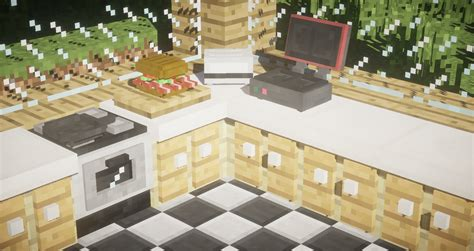 kitchen mod kitchen mod food minecraft mods curse