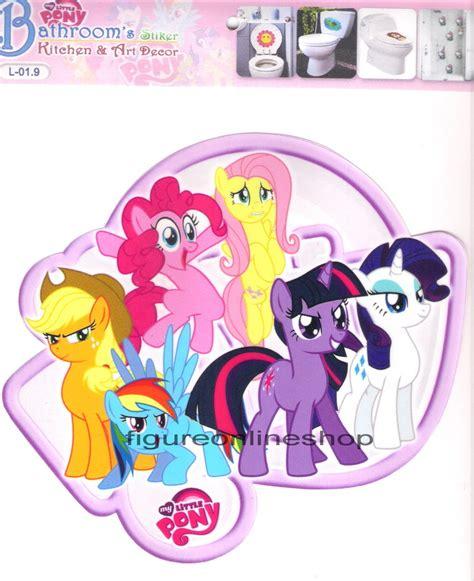Stiker Motif 5 jual stiker waterproof my pony motif 5 figure