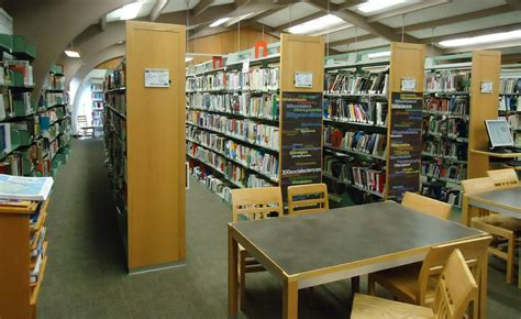 File:New Providence NJ public library interior view desks and shelves   Wikimedia Commons
