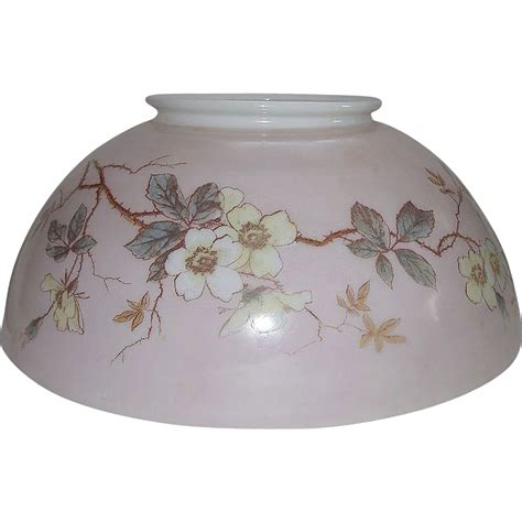 12 inch glass l shade antique 14 inch blown glass library l shade with