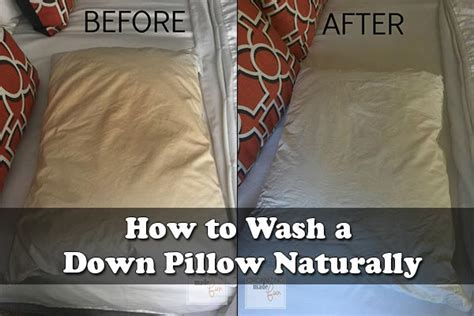 Washing A Pillow how to wash a pillow naturally