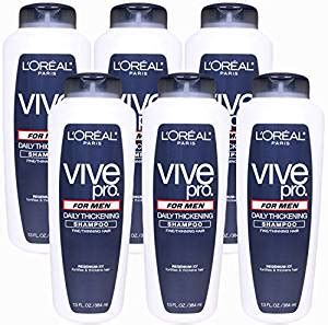buy l oreal vive pro for daily thickening shoo pack of 2 at low prices in l oreal vive pro for daily thickening shoo 13 0 fluid ounce pack of