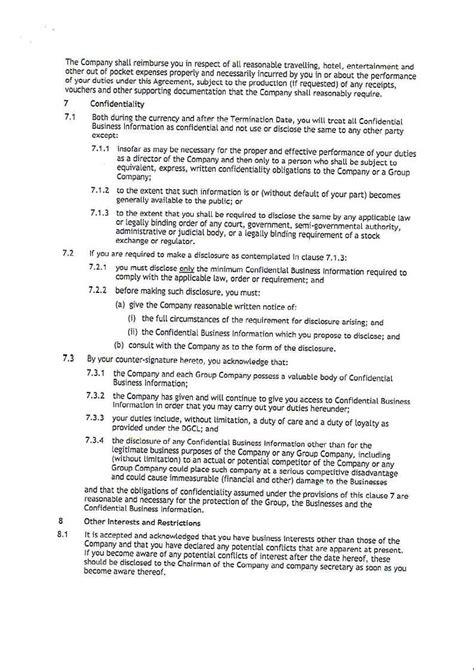 appointment letter format executive director appointment letter of executive director 28 images