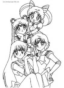 sailor moon color cartoon color pages printable cartoon coloring pages kids