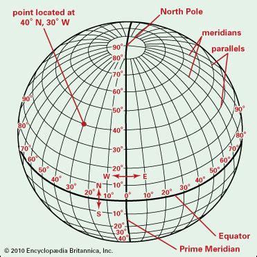 grid pattern geography definition latitude latitude and longitude lines kids britannica