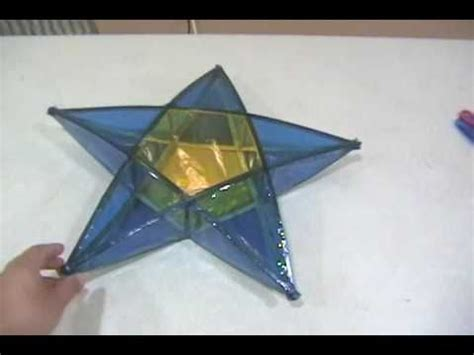 How To Make A Paper Parol - how to make a philippine parol