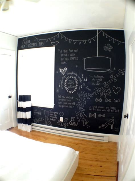 cool bedroom accessories 25 cool chalkboard bedroom d 233 cor ideas to rock digsdigs