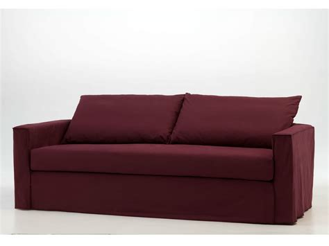 brick couch sofa bed with removable cover brick 15 by gervasoni design