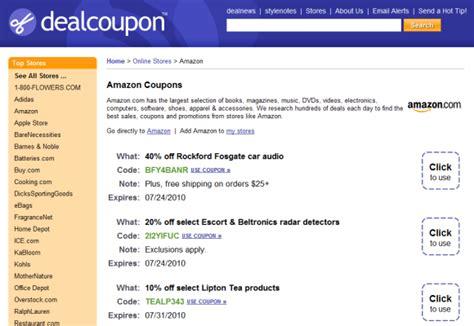 amazon coupons coupon codes dealcatcher deals 5 online sources for amazon promotional codes