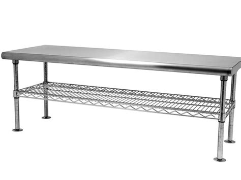 clean room bench stainless steel