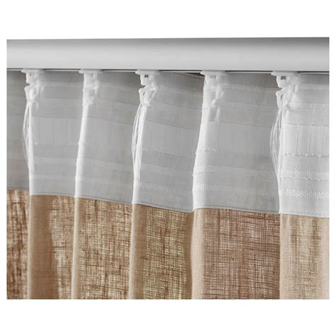 ikea curtains aina aina curtains 1 pair beige 145x250 cm ikea