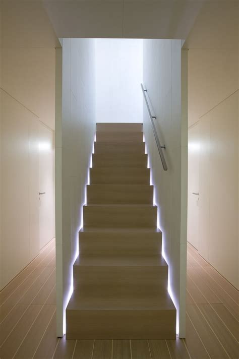 25 best ideas about stair lighting on led
