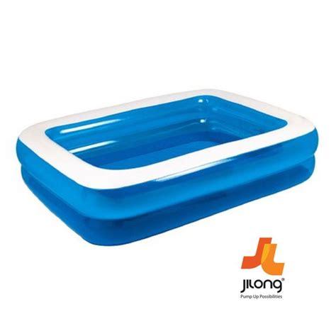 rectangular family paddling pool ea family rectangular paddling pool 120cm x 72cm x 20cm