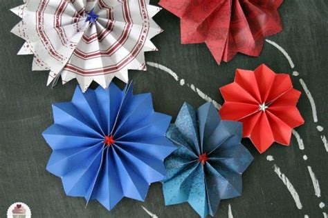 Paper Fireworks Crafts - how to make paper fireworks hoosier