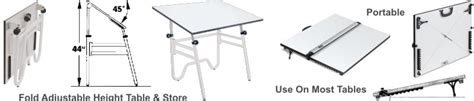 folding drafting table portable folding drafting tables the tables fold for