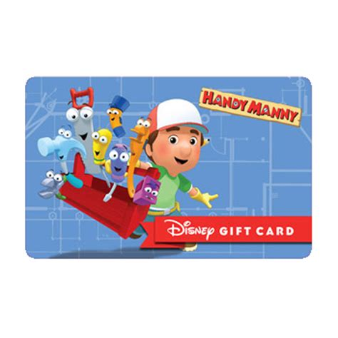 your wdw store disney collectible gift card handy manny construction zone - Mannys Gift Card