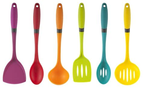 modern kitchen tools comfort grip brights 6 piece utensil set lima modern