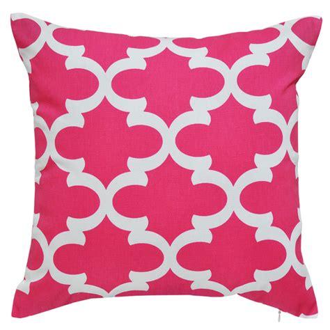 Fynn Candy Pink Cushion 45x45cm Hupper