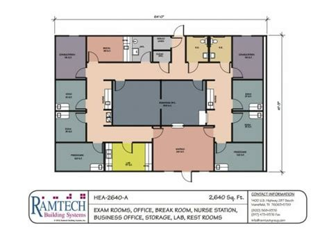 medical office floor plan sles medical floorplans ramtech