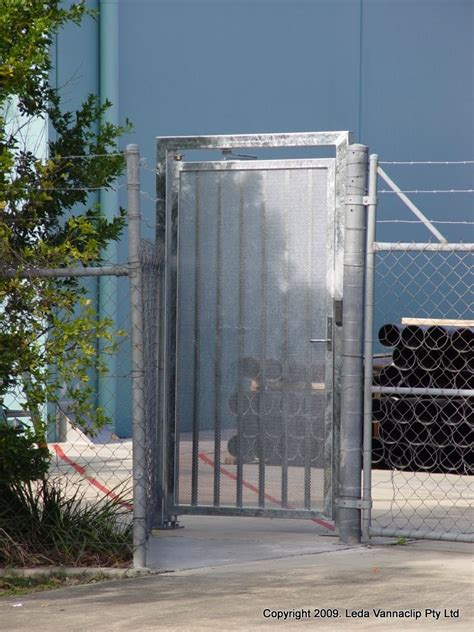 pedestrian swing gate pedestrian swing gate in frame leda security products
