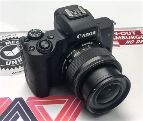 canon offers canon offers m50 without mirrors to shoot in