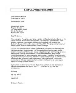 Exles Of Covering Letters For Applications by Sle Application Letter 18 Exles In Pdf Word