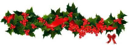 bells garland christmas lights border clipart clipart