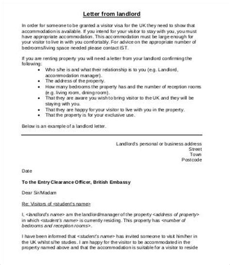 Proof Of Accommodation Letter Uk Employment Verification Letter For Visa Uk Docoments Ojazlink