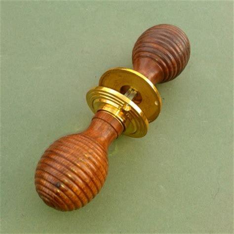 wood beehive or mortise door knobs