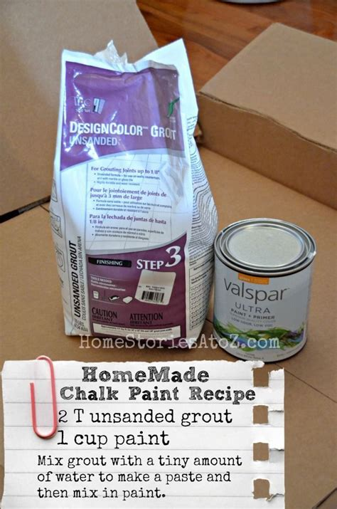 diy chalk paint consistency chalky finish paint recipe lowescreator coats