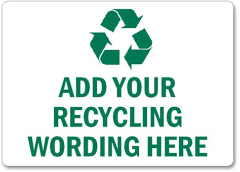 recycle sign template free recycling labels printabele recycling stickers pdfs