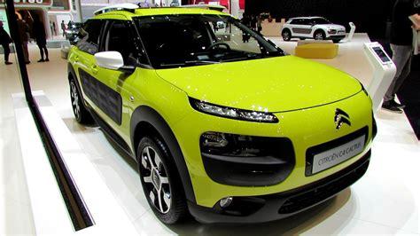 citroen c4 cactus green 2015 citroen c4 cactus exterior and interior walkaround