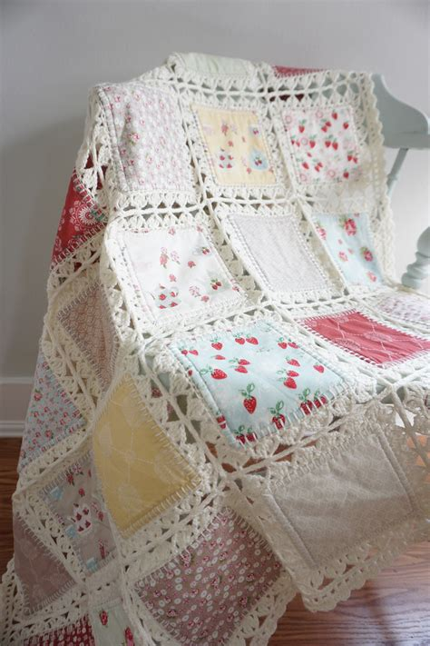The Quilt by High Tea Crochet Quilt Tutorial Quilting In The