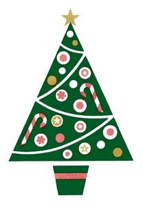 Italian Christmas Tree - retro clip art fun and funky christmas tree the graphics fairy