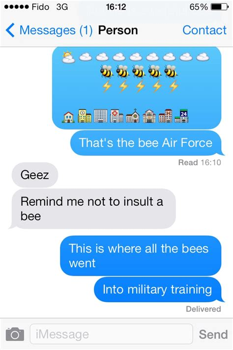 wait  funny emoji texts popsugar tech photo