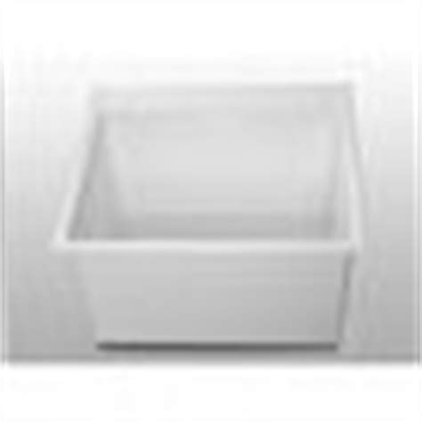 fiat dl 1 sink fiat dl1 molded laundry tub white faucetdepot com