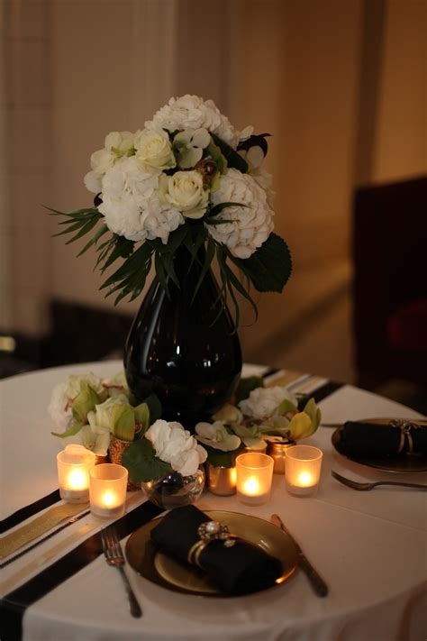 Black And Gold Table Decorations by Portfolio 1930s Deco Ido November 2011