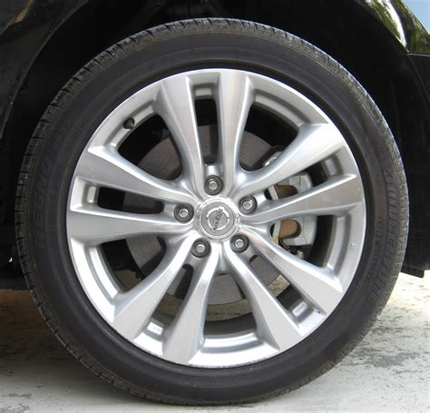 Wheel Of file front tire and wheel of nissan fuga jpg wikimedia